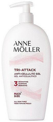 Gel anti-cellulite à la caféine pour corps - Anne Moller Tri-attack Anti-cellulite Gel — Photo N1