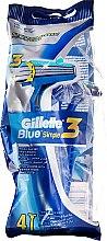 Parfums et Produits cosmétiques Rasoirs jetables, 4 pcs - Gillette Blue 3 Simple