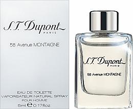 Parfums et Produits cosmétiques Dupont 58 Avenue Montaigne - Eau de toilette ( mini )