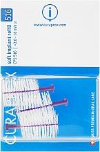Parfums et Produits cosmétiques Brosses interdentaires pour implants, CPS 516, 3pcs - Curaprox Soft Implant
