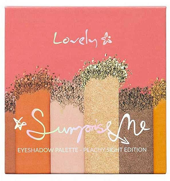 Palette fards à paupières - Lovely Surprise Me Eyeshadow Palette Peachy Sight Edition