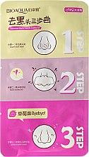 Parfums et Produits cosmétiques Patchs anti-points noirs en 3 étapes - Bioaqua Remove Black Heads 3-step Kit