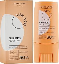 Parfums et Produits cosmétiques Stick solaire au beurre de karité pour visage et corps - Oriflame Sun 360 Sun Stick SPF 30