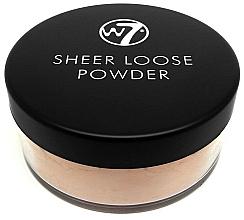 Parfums et Produits cosmétiques Poudre cuite transparente - W7 Sheer Loose Powder