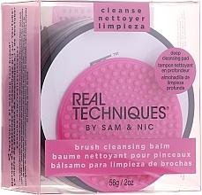 Parfums et Produits cosmétiques Baume nettoyant avec tampon pour pinceaux - Real Techniques Brush Cleansing Balm