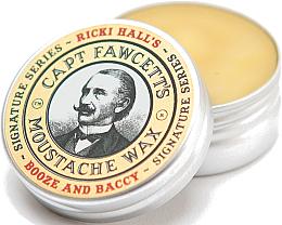 Parfums et Produits cosmétiques Cire à moustache - Captain Fawcett Ricki Hall Booze & Baccy Moustache Wax