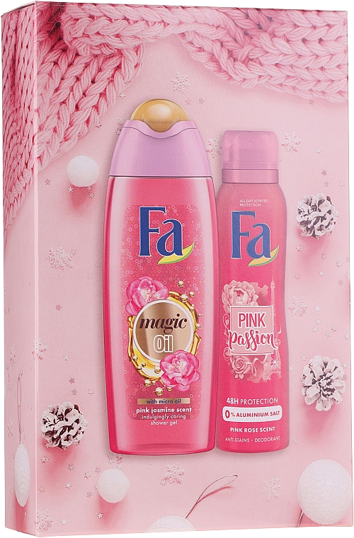 Fa Pink Passion - Set (gel douche/250ml + déodorant spray anti-transpirant/150ml)