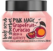 Parfums et Produits cosmétiques Gommage sorbet au sel et extrait de pamplemousse pour corps - MonoLove Bio Fresh&Elasticity Body Scrub