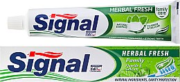 Parfums et Produits cosmétiques Dentifrice aux herbes - Signal Family Herbal Fresh Toothpaste