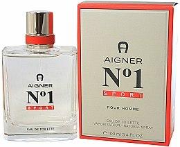 Parfums et Produits cosmétiques Aigner No 1 Sport - Eau de Toilette