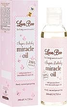 Parfums et Produits cosmétiques Huile de vergetures à l'huile d'amande - Love Boo Miracle Oil
