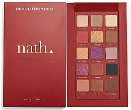 Parfums et Produits cosmétiques Palette de fards à paupières - Makeup Revolution Pro X Nath Eyeshadow Palette