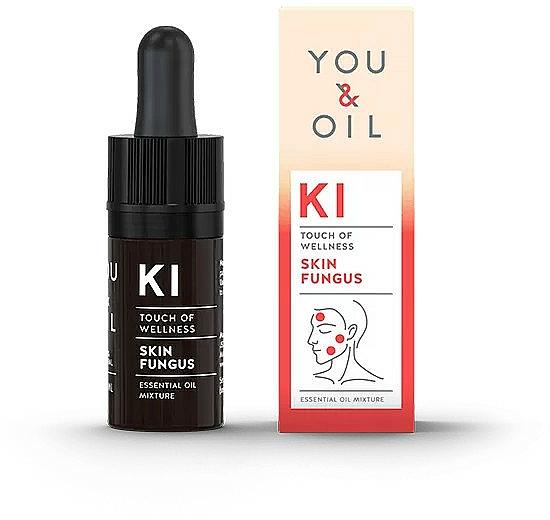Mélange d'huiles essentielles - You & Oil KI-Skin Fungus Touch Of Welness Essential Oil