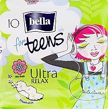 Parfums et Produits cosmétiques Serviettes hygiéniques, 10 pcs - Bella For Teens Ultra Relax