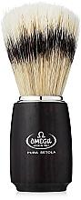 Parfums et Produits cosmétiques Blaireau de rasage, 11712, noir - Omega