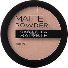 Parfums et Produits cosmétiques Poudre matifiante pour visage - Gabriella Salvete Matte Powder SPF15