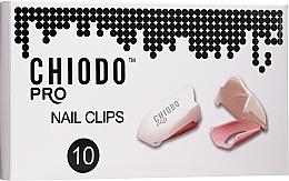 Parfums et Produits cosmétiques Clips en plastique pour enlever le vernis hybride - Chiodo PRO