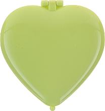 Parfums et Produits cosmétiques Miroir de poche en forme de cœur 85550, vert clair - Top Choice Colours Mirror