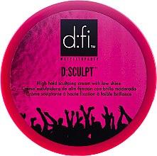 Parfums et Produits cosmétiques Crème sculptante à haute fixation - D:fi d:sculpt High Hold Low Shine Hair Sculptor