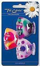 Parfums et Produits cosmétiques Pinces à cheveux, 24818, coloré - Top Choice
