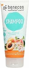 Parfums et Produits cosmétiques Shampooing à l'abricot et fleur de sureau - Benecos Natural Care Apricot & Elderflower Shampoo