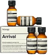 Parfums et Produits cosmétiques Coffret cadeau - Aesop Arrival Travel Kit (shm/50ml + cond/50ml + sh/gel/50ml + balm/50ml)