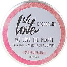 Parfums et Produits cosmétiques Déodorant crème naturel Sweet Serenity - We Love The Planet Deodorant Sweet Serenity