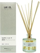 Parfums et Produits cosmétiques Bâtonnets parfumés, Patchouli et Cèdre - Ambientair Lab Co. Patchouli & Cedar