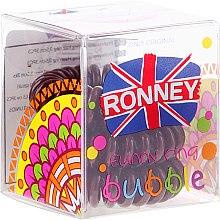 Parfums et Produits cosmétiques Lot de 3 élastiques à cheveux, 3,5 cm - Ronney Professional S11 MAT