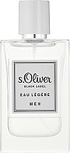 Parfums et Produits cosmétiques S. Oliver Black Label Eau Legere Men - Eau de Toilette