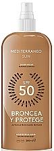Parfums et Produits cosmétiques Lotion solaire - Mediterraneo Sun Suntan Lotion SPF50