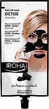 Parfums et Produits cosmétiques Masque peel-off au charbon actif pour visage - Iroha Nature Detox Peel Off Face Mask