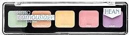 Parfums et Produits cosmétiques Palette correcteurs en crème - Hean Photo Camouflage Cream Concealer Palette