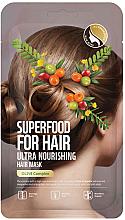 Parfums et Produits cosmétiques Masque à l'extrait d'olive pour cheveux - Superfood For Skin Hair Mask With Olive Cloth