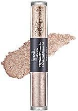 Parfums et Produits cosmétiques Double ombres à paupières liquides - Touch in Sol Metallist Liquid Foil & Glitter Eye Shadow Duo
