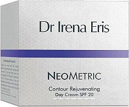 Parfums et Produits cosmétiques Crème de jour rajeunissante à l'huile d'avocat, SPF 20 - Dr Irena Eris Neometric Contour Rejuvenating Day Cream SPF 20