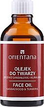 Parfums et Produits cosmétiques Huile au bois de santal et curcuma pour visage - Orientana Face Oil Sandalwood & Turmeric