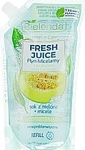 Parfums et Produits cosmétiques Eau micellaire au jus de melon pour visage (recharge) - Bielenda Fresh Juice Detoxifying Face Micellar Water Melon