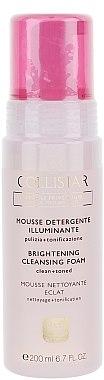 Mousse nettoyante illuminante pour visage - Collistar Brightening Cleansing Foam 200ml — Photo N1