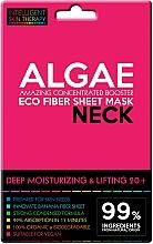 Parfums et Produits cosmétiques Masque tissu aux algues pour cou - Beauty Face IST Deep Moisturizing & Lifting Neck Mask Algae