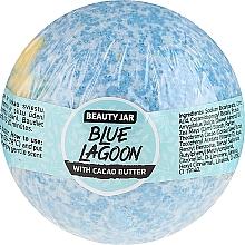 Parfums et Produits cosmétiques Bombe de bain au beurre de cacao - Beauty Jar Blue Lagoon