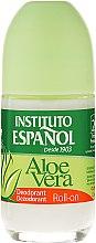 Parfums et Produits cosmétiques Déodorant roll-on anti-transpirant à l'aloe vera - Instituto Espanol Aloe Vera Roll-on Deodorant