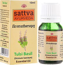 Parfums et Produits cosmétiques Huile essentielle de basilic - Sattva Ayurveda Tulsi Basil Essential Oil