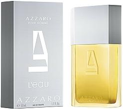 Parfums et Produits cosmétiques Azzaro Pour Homme L'Eau - Eau de Toilette