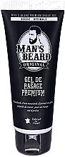 Parfums et Produits cosmétiques Gel de rasage Glisse optimale - Man's Beard Gel De Rasage Premium (tube)