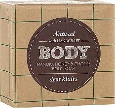 Parfums et Produits cosmétiques Savon au miel de Manuka et chocolat pour visage et corps - Klairs Body Manuka Honey & Choco Body Soap