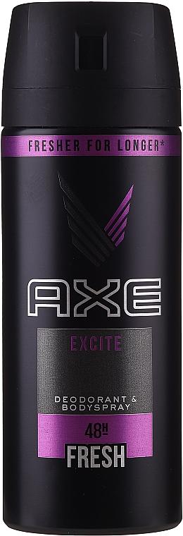 Déodorant spray anti-transpirant - Axe Deodorant Bodyspray Dry Excite