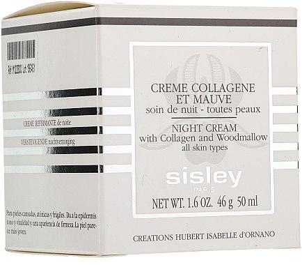 Crème au collagène et mauve - Sisley Creme Collagene Et Mauve Botanical Night Cream — Photo N3