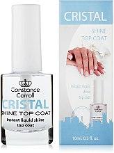 Parfums et Produits cosmétiques Top coat pour une brillance de cristal - Constance Carroll Cristal Shine Top Coat