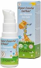Parfums et Produits cosmétiques Huile bio anti-rhume à l'huile de graines d'inca inchi - Azeta Bio Organic Essential Cold Relief